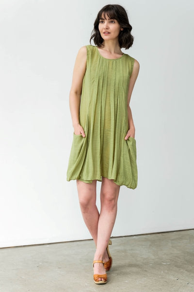 G&F Rosalie Dress - Breathable Naturals | Glam & Fame Clothing