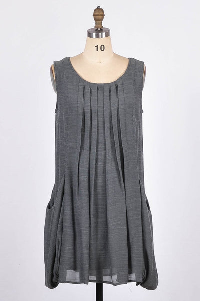 G&F Rosalie Cotton Blend Dress - Glam & Fame | Breathable Naturals