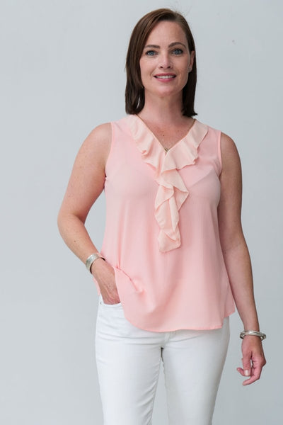 G&F Sabella Top - Breathable Naturals | Glam & Fame Clothing