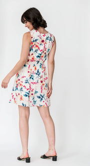G&F Sandy Cotton Blend Summer Dress - Breathable Naturals | Glam & Fame Clothing