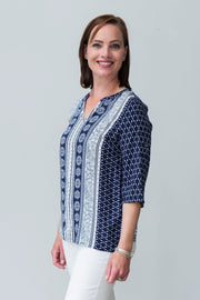 G&F Savannah Top - Breathable Naturals | Glam & Fame Clothing
