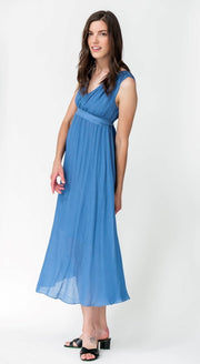 G&F Shailoh Long Dress - Breathable Naturals | Glam & Fame Clothing