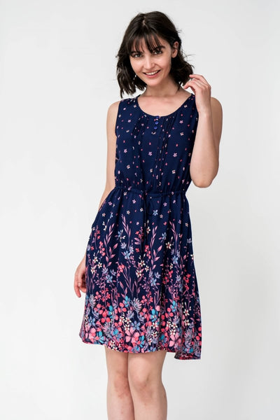 G&F Shania Cotton Blend Summer Dress - Breathable Naturals | Glam & Fame Clothing