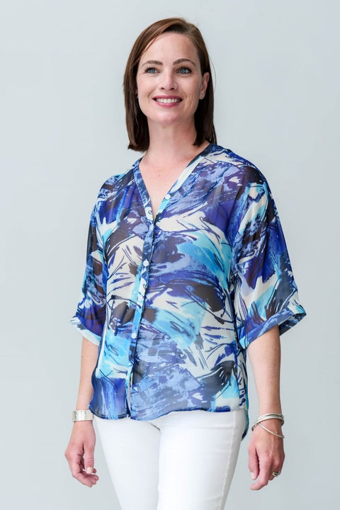 G&F Sneha Shirt - Breathable Naturals | Glam & Fame Clothing