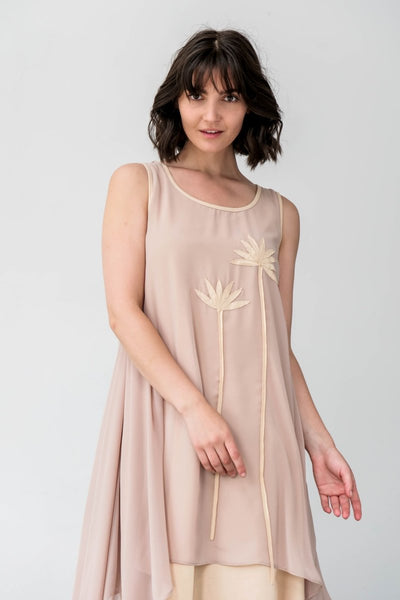 G&F Trinity Dress - Breathable Naturals | Glam & Fame Clothing