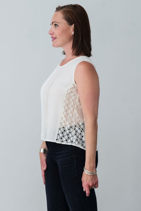 G&F Virginia Cotton Blend Top - Breathable Naturals | Glam & Fame Clothing