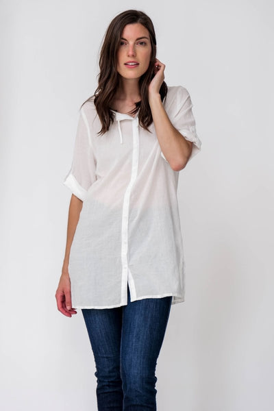 G&F Wendy Shirt - Breathable Naturals | Glam & Fame Clothing