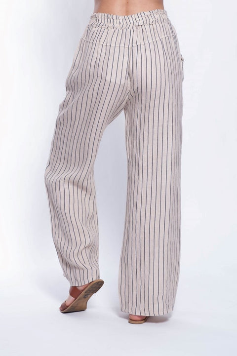 ITALIAN LINEN PANT - Breathable Naturals | Glam & Fame Clothing