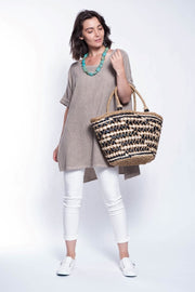 ITALIAN LINEN TOP - Breathable Naturals | Glam & Fame Clothing