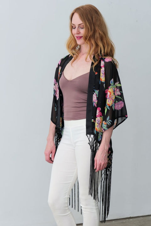Ivy Kimono - Breathable Naturals | Glam & Fame Clothing