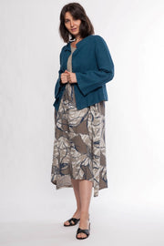 Jacket Eleni Linen - Breathable Naturals | Glam & Fame Clothing