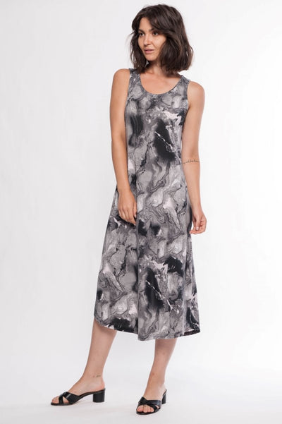 Jersey Knit Maxi Dress - Breathable Naturals | Glam & Fame Clothing