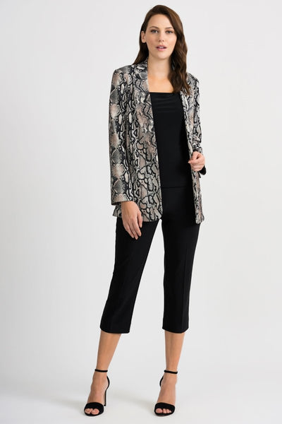 Joseph Ribkoff Printed Jacket - Glam & Fame | Breathable Naturals