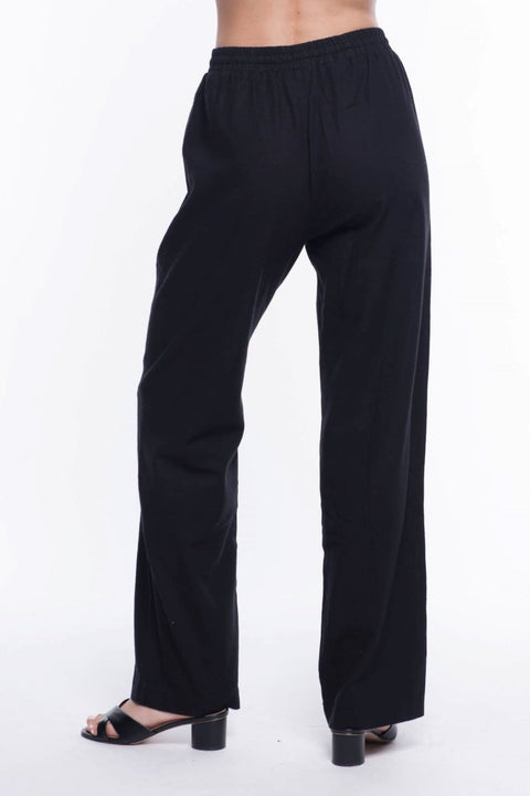 Linen Blend Trouser - Breathable Naturals | Glam & Fame Clothing