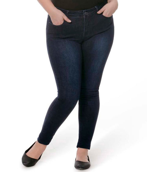 Alexa High Rise Signature Skinny Jeans - Glam & Fame | Breathable Naturals
