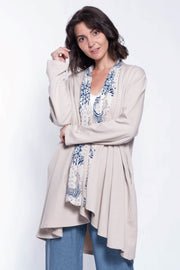 Made in Italy Cotton Kimono - Breathable Naturals | Glam & Fame Clothing