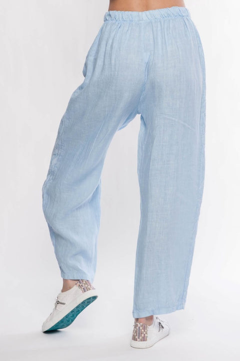 Made in Italy Linen Pants - Breathable Naturals | Glam & Fame Clothing