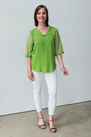 Myra Blouse - Breathable Naturals | Glam & Fame Clothing