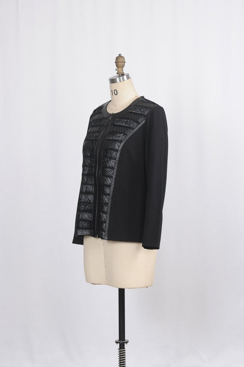 Ponte Roma Jacket - Glam & Fame | Breathable Naturals