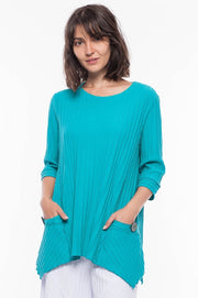 Premium Washed Cotton Tunic - Breathable Naturals | Glam & Fame Clothing