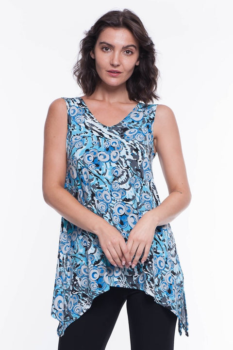 Shelly Tunic Blouse - Breathable Naturals | Glam & Fame Clothing