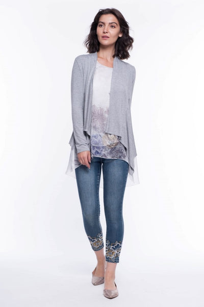 Soft Knit Open Cardigan - Breathable Naturals | Glam & Fame Clothing