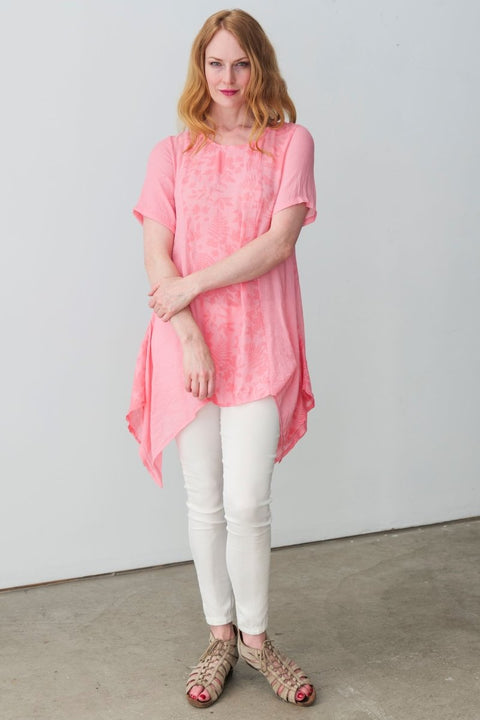 Sydney Tunic - Breathable Naturals | Glam & Fame Clothing