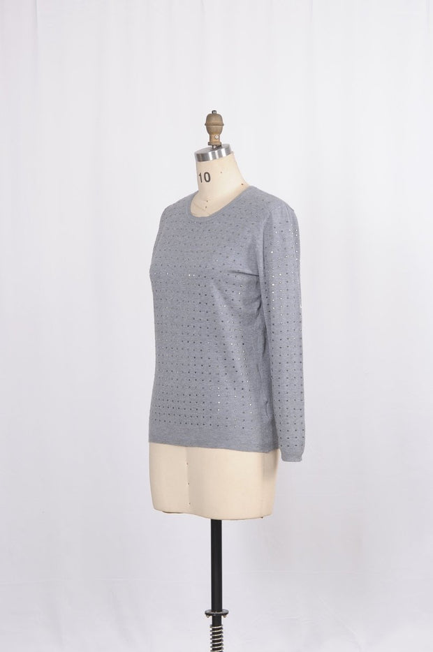 Today's Designer Sweater Top Sparkles - Glam & Fame | Luxury Boutique