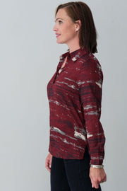 Vanya Cotton Blend Shirt - Breathable Naturals | Glam & Fame Clothing