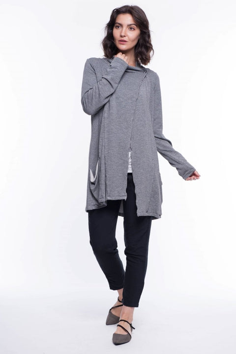 Wrap Knit Jacket - Breathable Naturals | Glam & Fame Clothing