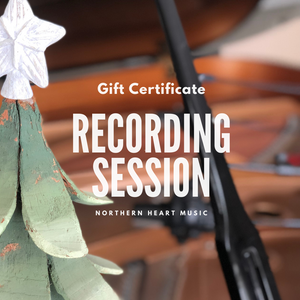 Recording Session Gift Certificate