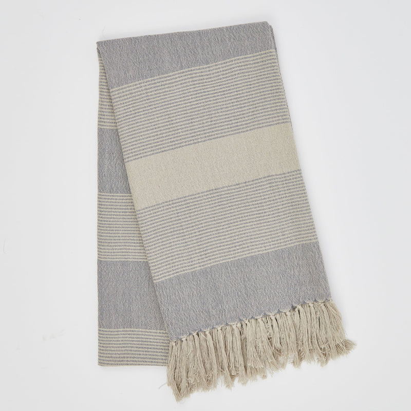 Weaver Green Bandol Blue Throw
