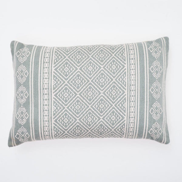 Weaver Green Kalkan Dove Grey Cushion