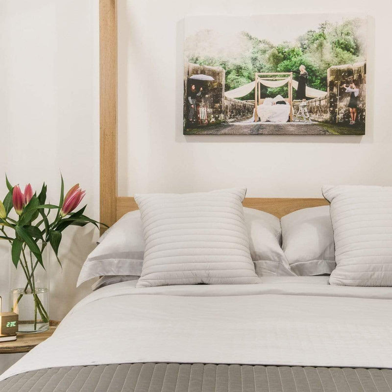 Special Offer! Bamboo Duvet, Fitted Sheet (50% Off) & Pillow Case Set