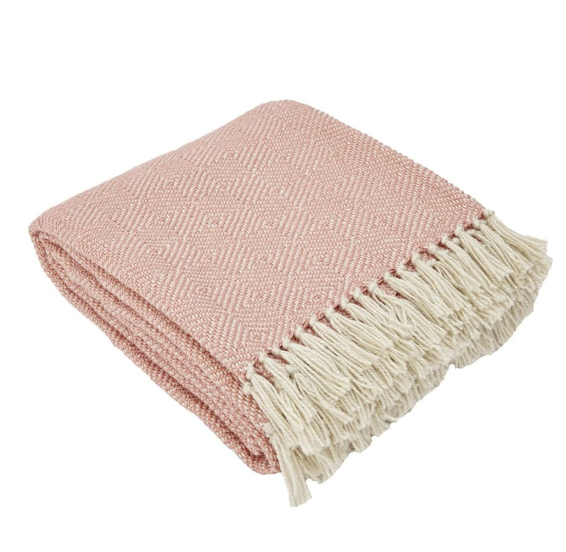 Weaver Green Diamond Coral Blanket