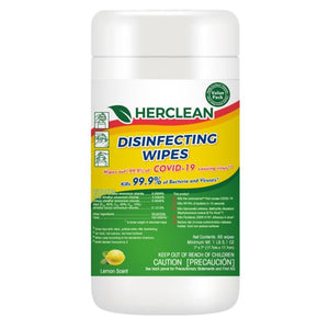 Surface Disinfecting Wipes (EPA N-Listed)