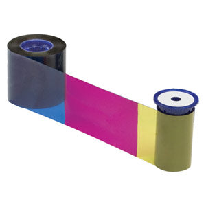 Datacard YMCKFT Colour Ribbon with UV Panel - Prints 300 Cards (534100-003)