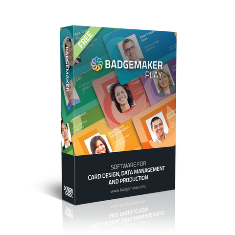 BadgeMaker PLAY – ID Card Software, ID Card Maker, Badge Software (BADGEMAKER-PLAY)
