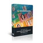 BadgeMaker PRO – ID Card Software, ID Card Maker, Badge Software (BADGEMAKER-PRO)
