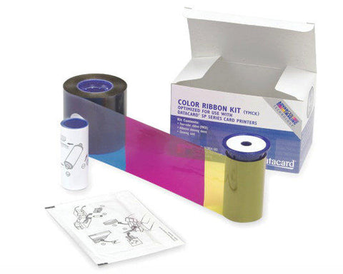 Datacard YMCKUV Colour Ribbon - Prints 750 Cards (568971-005)