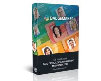 BadgeMaker BASE – ID Card Software, ID Card Maker, Badge Software (BADGEMAKER-BASE)