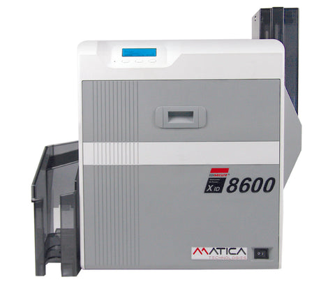 Matica XID8600 Retransfer Card Printer - Dual Sided