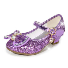Load image into Gallery viewer, Princess Kids Leather Shoes