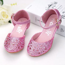 Load image into Gallery viewer, Girls high heel shoes children's sandals