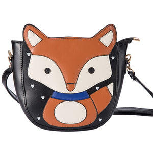 Cute Cartoon Fox Shoulder Bag
