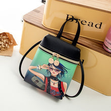 Load image into Gallery viewer, Cartoon Women Messenger Bags
