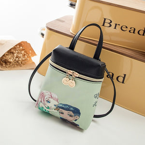 Cartoon Women Messenger Bags
