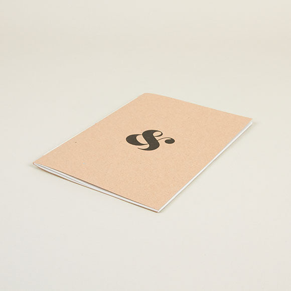 Ampersand Notebook Front Cover