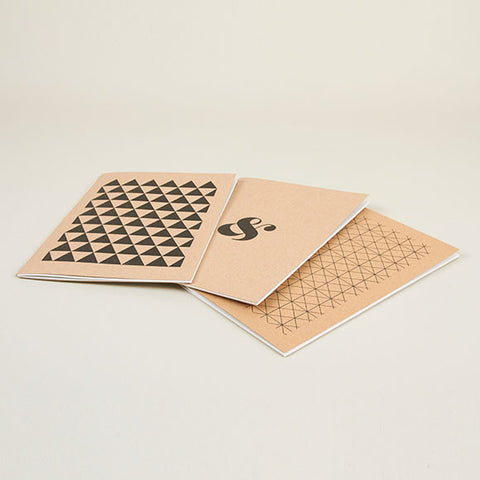 Hand Stitched Exercise Books