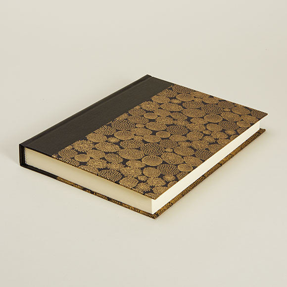Gold Flower Notebook